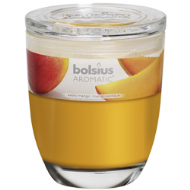 Bolsius Scented Candle In Glass Jar With Lid - Exotic Mango